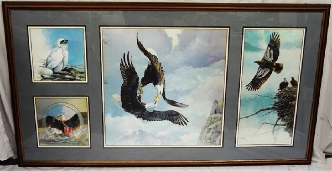 "Mario Fernandez (Cuban 1946-2012) ""Story of the Eagle"""