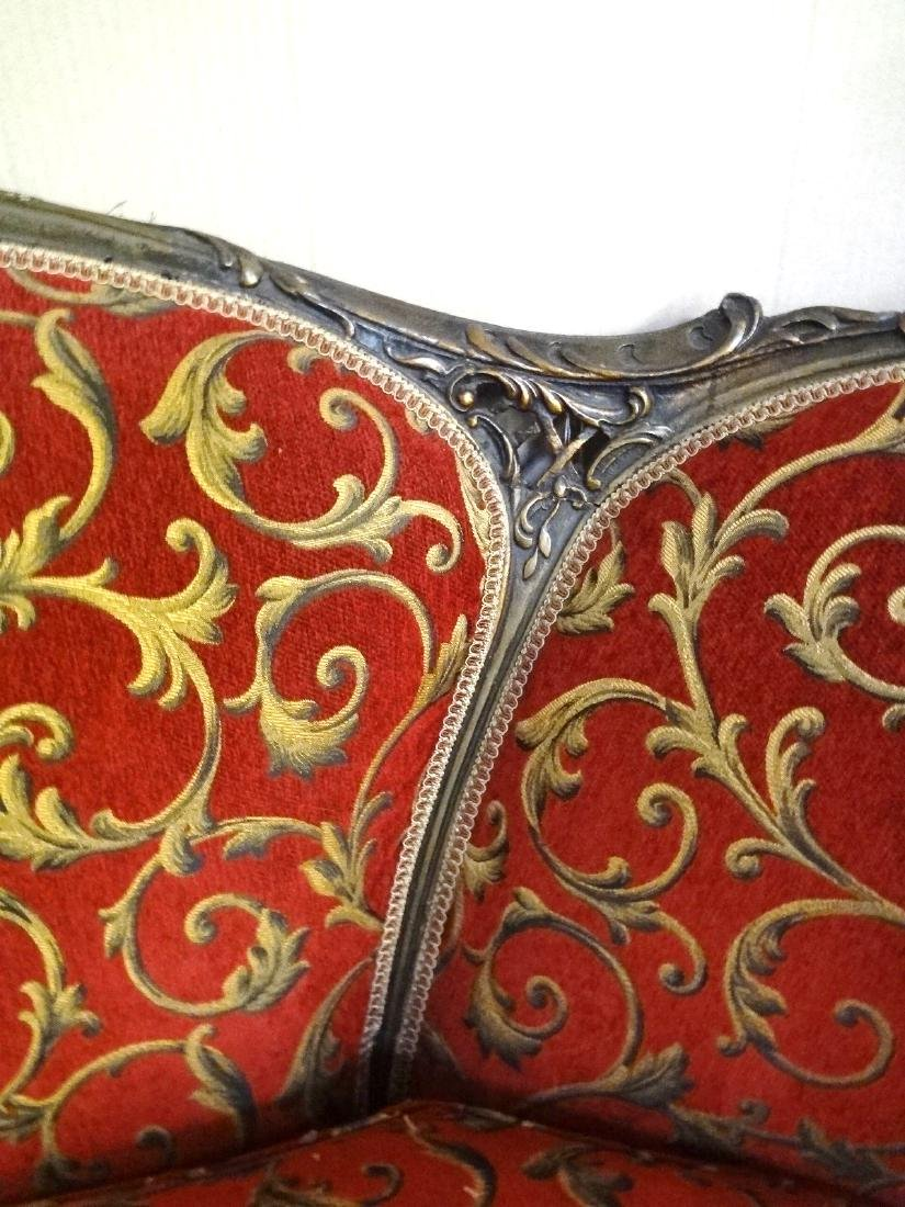 Rococo Revival Three Medallion Sofa - 7