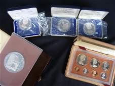 1973 Cook Islands $2 Coronation & $50 Churchill Silver