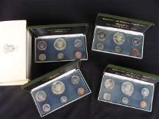 1973 Panama 6 Coin Proof Set Silver Balboa US Mint Lot
