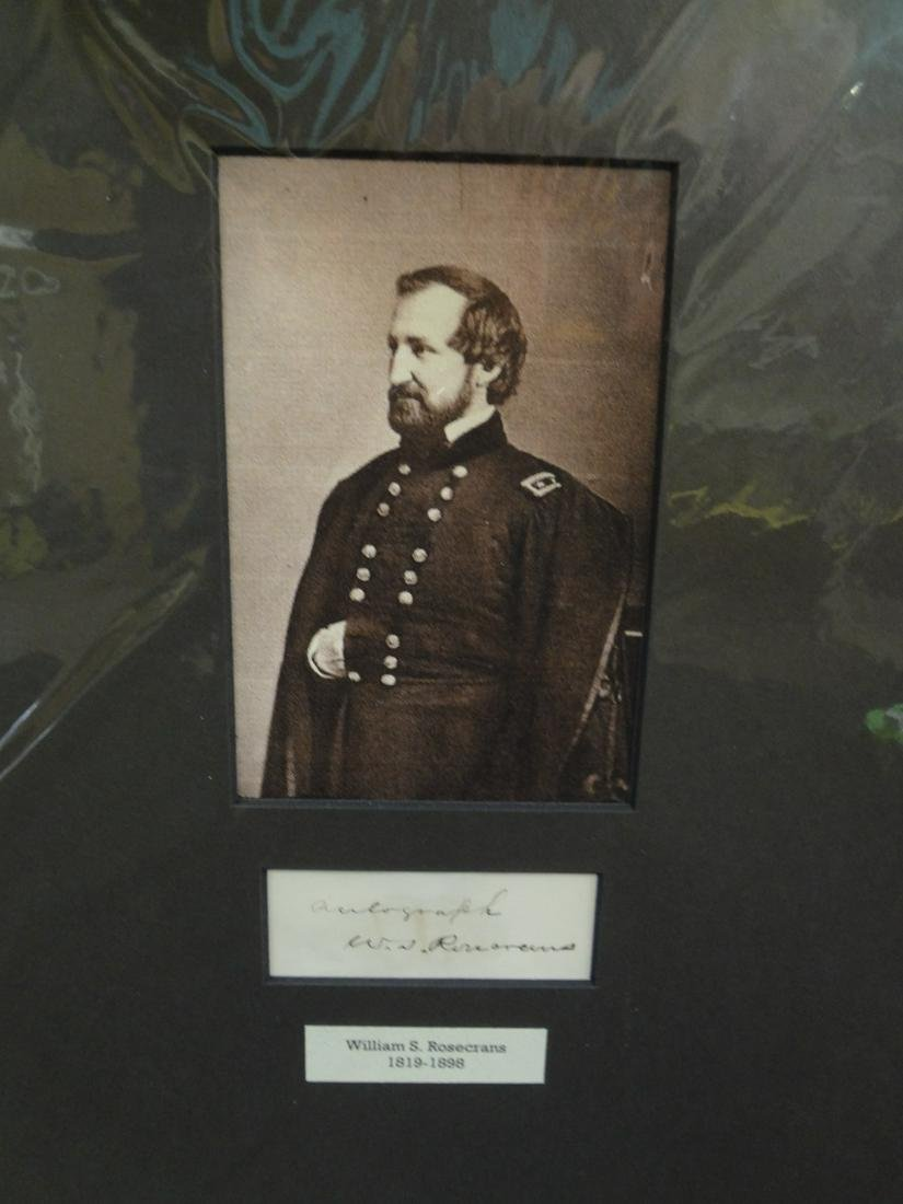 William S. Rosecrans Civil War Major General US Army