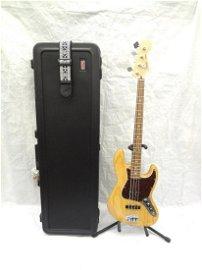 Fender Jazz Bass with Gator TSA Approved Hard Strat