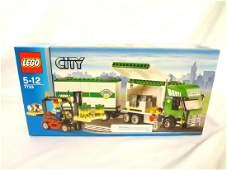 LEGO Collector Set 7733 City Double Truck Hauler New