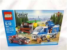 LEGO Collector Set 4441 City Police Dog Van New and
