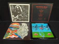 4 Grateful Dead Albums
