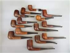 14 Briar Smoking Pipes Wm Penn Coventry Stern