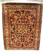 Iran Hamadan Prayer Rug Hand Knotted