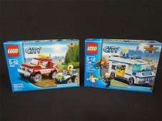 2 LEGO Unopened Sets Police Pursuit Prisoner