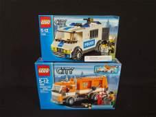 2 LEGO Unopened Sets 7991 Garbage Truck 7245 City