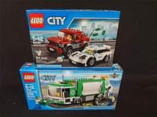 2 LEGO Unopened Sets 4432 Garbage Truck 60128