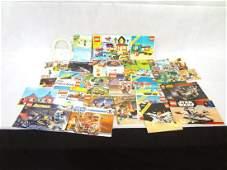 Large Group of Original LEGO Instruction Booklets