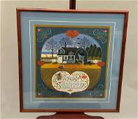 Charles Wysocki Signed And Numbered Lithograph