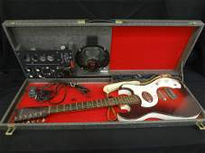 Silvertone 1965 Sears Model 1457 Electric Guitar and