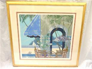 """John Kiraly Signed Numbered Lithograph """"Royal Breeze"""""""