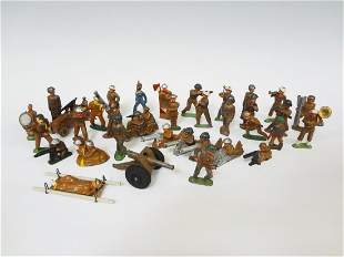 (36) Barclay Lead Toy Soldiers