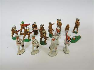 (16) Manoil Lead Toy Soldiers