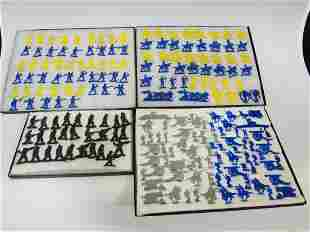 Large Group of Plastic Military Roman, Army, Civil War