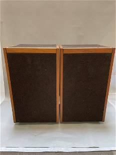 Pair of Bose 601 Direct Reflecting Speakers 1977