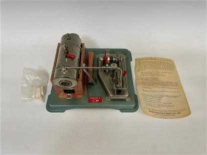 Jensen Mfg. Co. Steam Engine No. 75 in Original Box