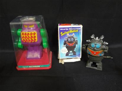Mechanical Astroids , Mechanical Swivel Robot in