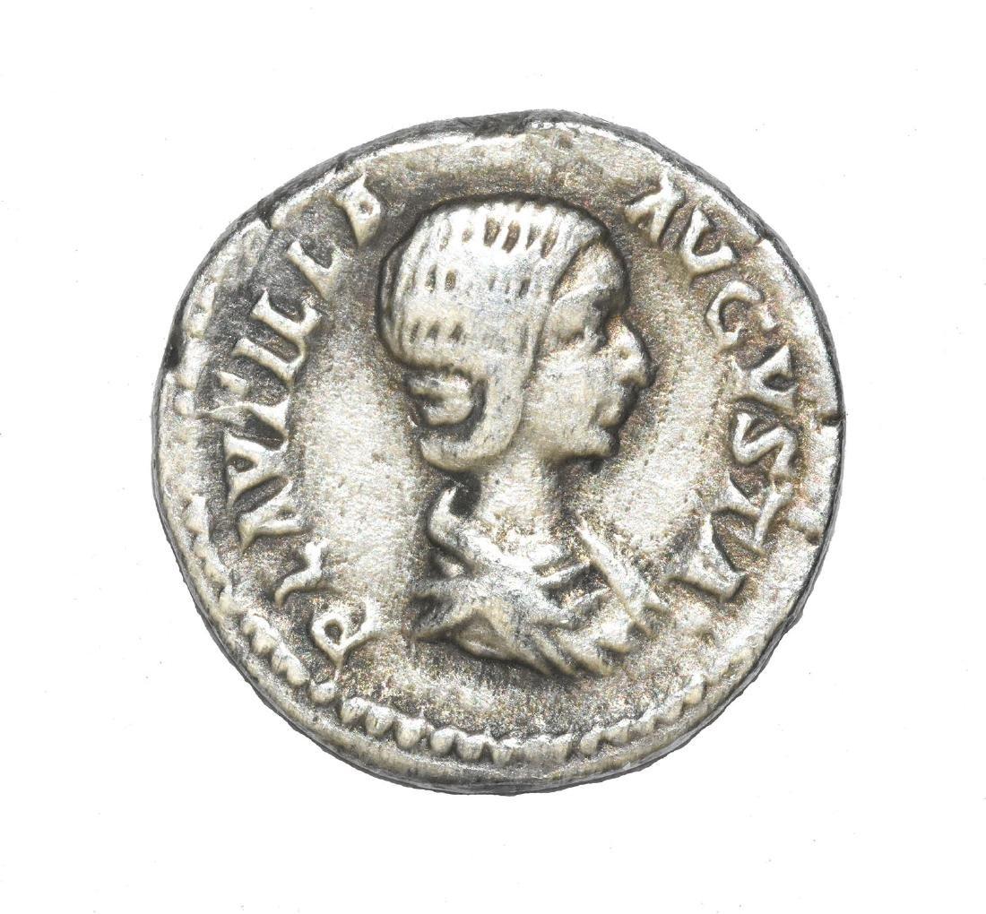 Plautilla Denarius. Laodicea mint, 202 AD.