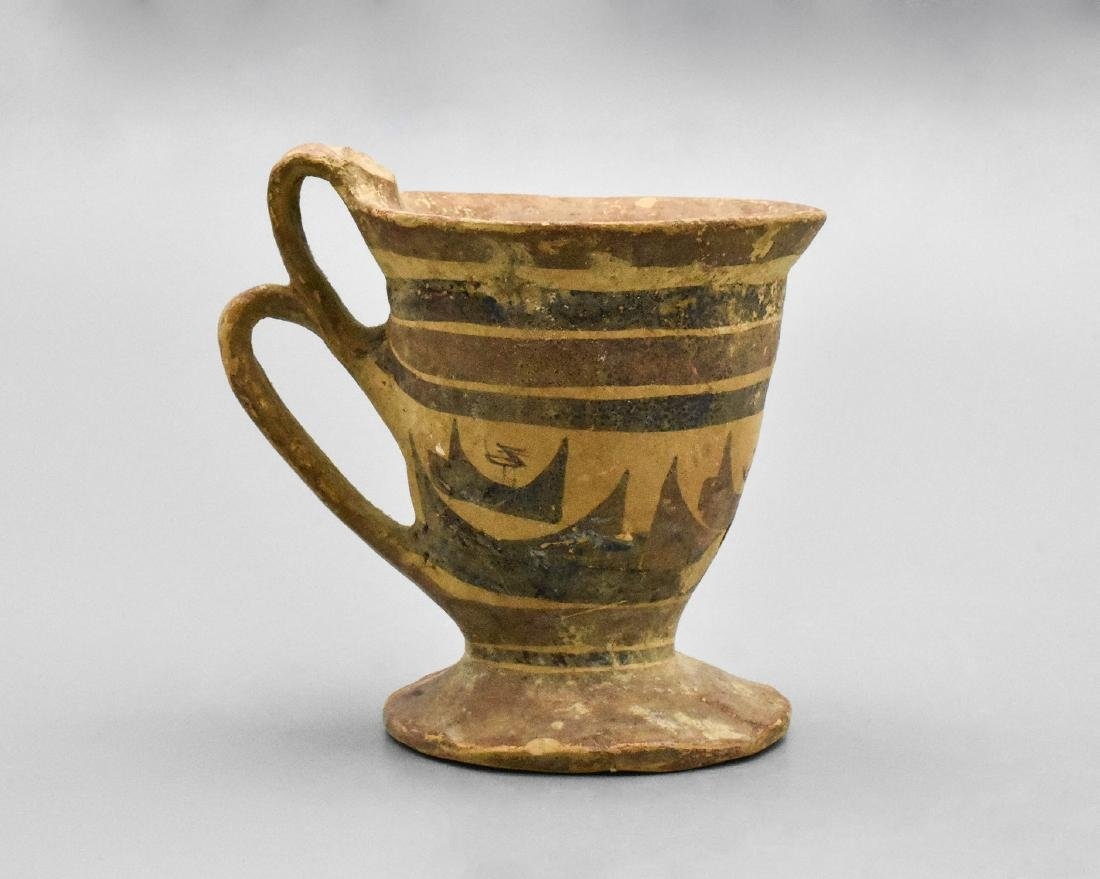 RARE DAUNIAN GREEK CUP - 3