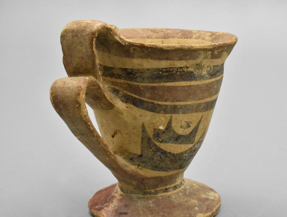 RARE DAUNIAN GREEK CUP - 6