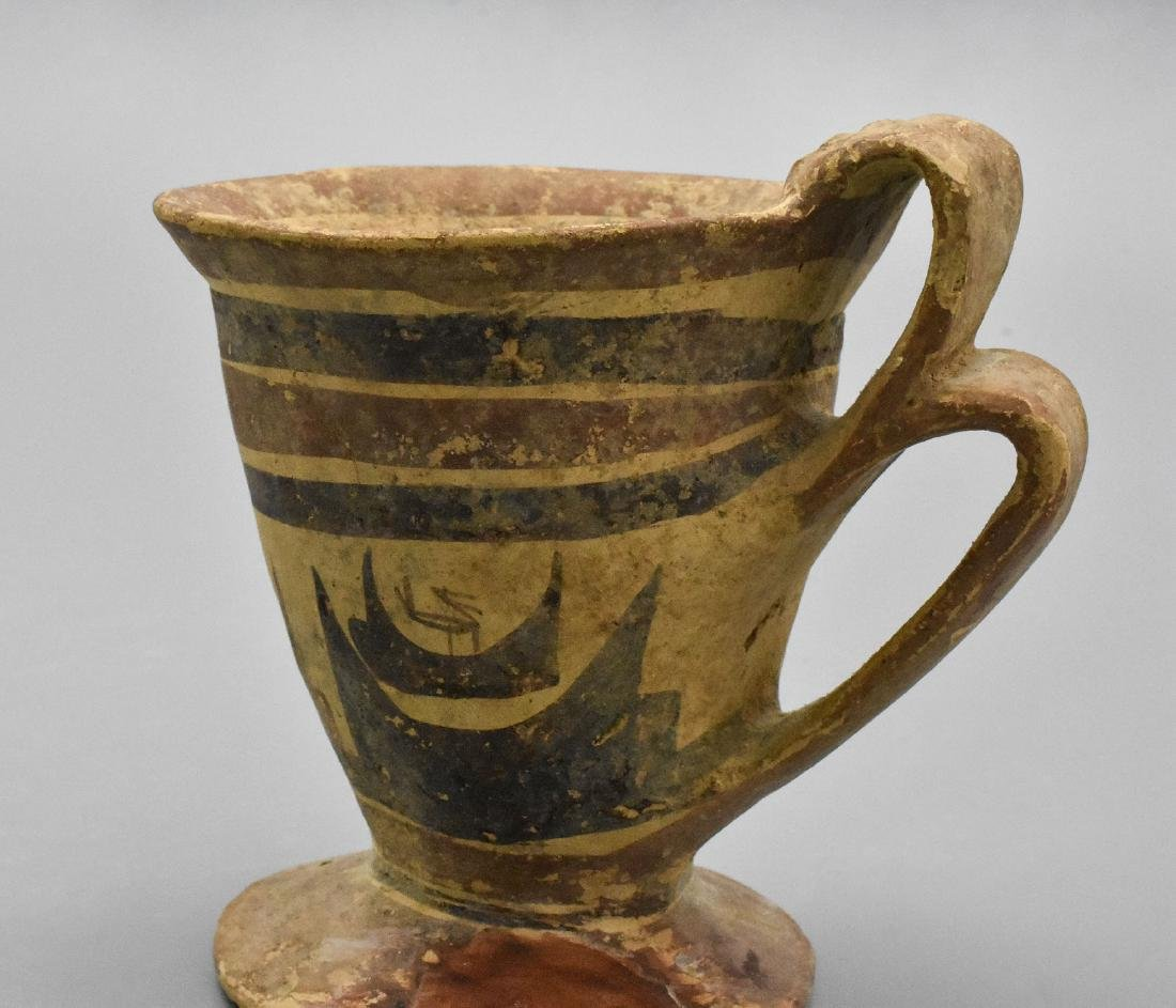 RARE DAUNIAN GREEK CUP - 7