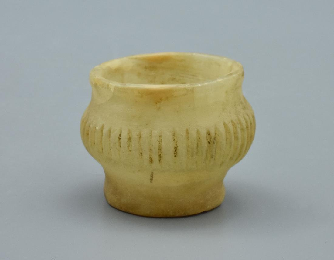 Rare Mesopotamian Alabaster Vessel - 2