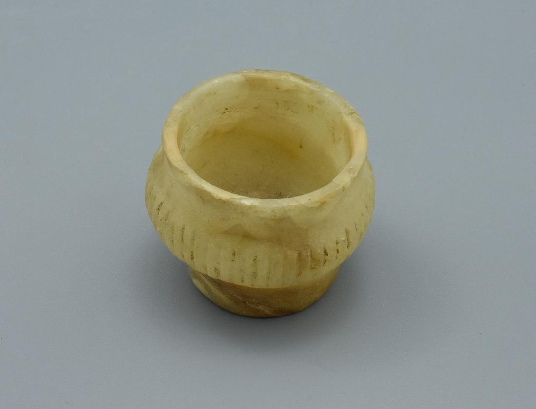 Rare Mesopotamian Alabaster Vessel - 4
