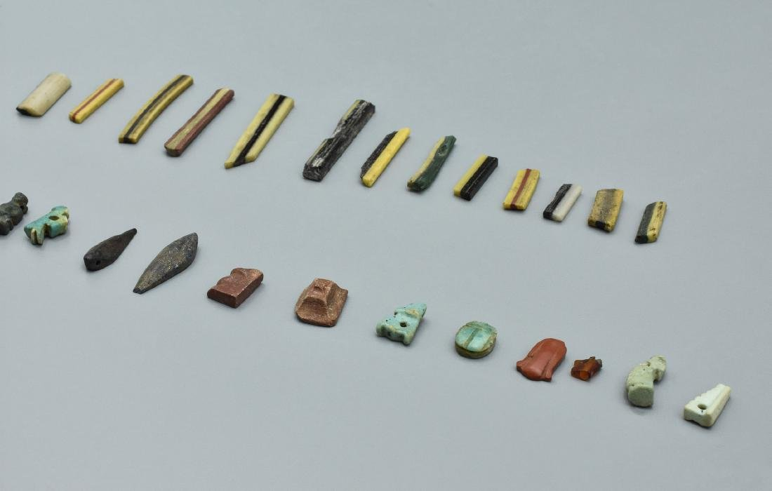 Egyptian amulets and inlays - 2
