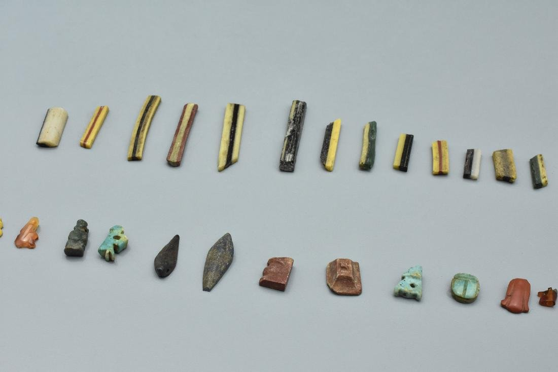 Egyptian amulets and inlays - 4