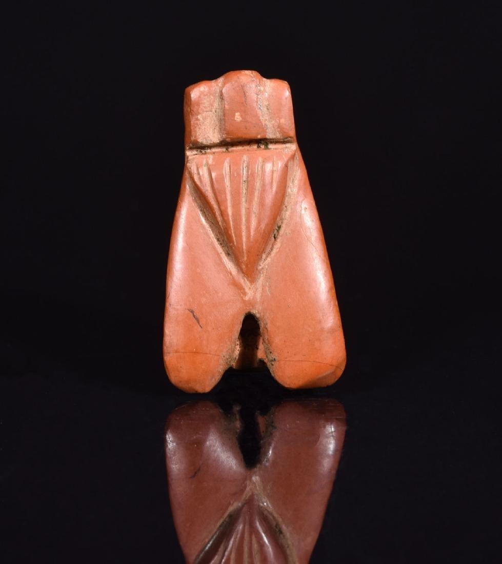 Egyptian Hardstone Fly Amulet