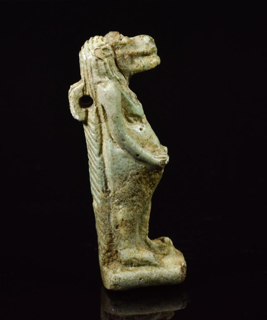 Egyptian Faience Amulet of Tauret - 2