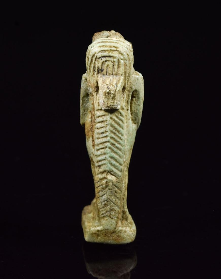 Egyptian Faience Amulet of Tauret - 3