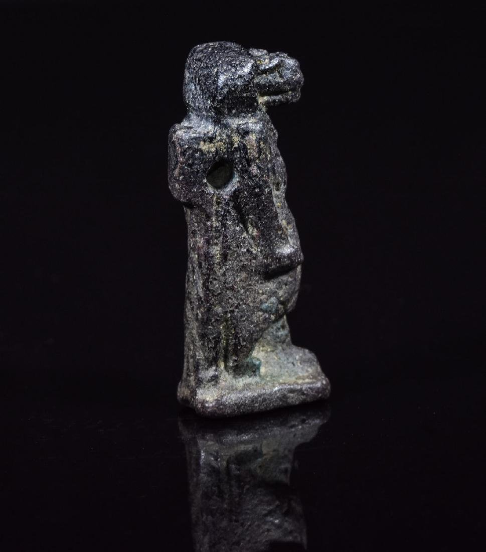 Egyptian Faience Amulet of Tauret - 2