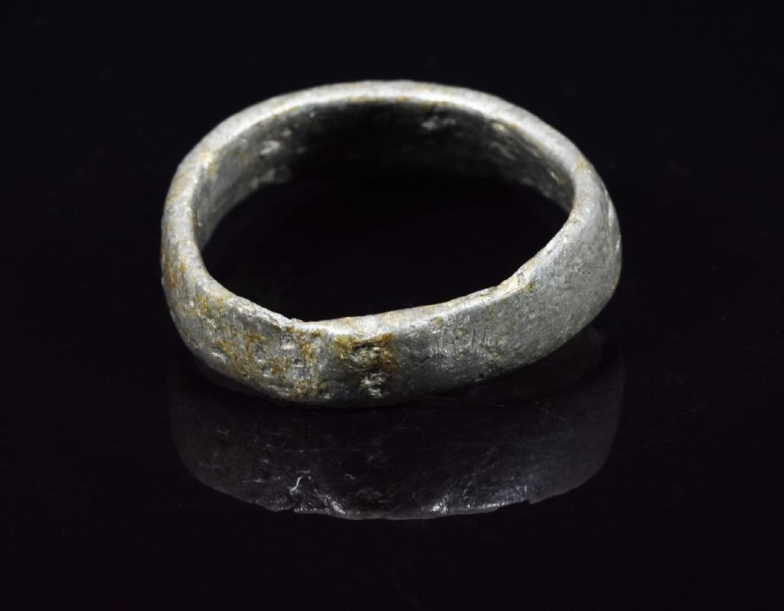 Roman/Early Byzantine Archers Ring with Decoration - 3