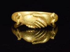 TUDOR PERIOD GOLD WEDDING RING