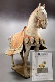 CHINESE NORTHERN WEI TERRACOTTA HORSE- TL TESTED