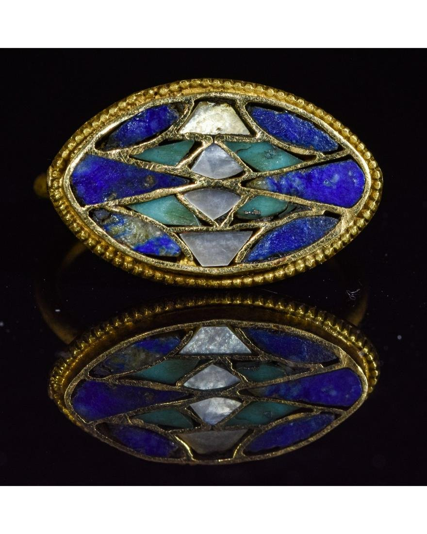 RARE EGYPTIAN GOLD RING