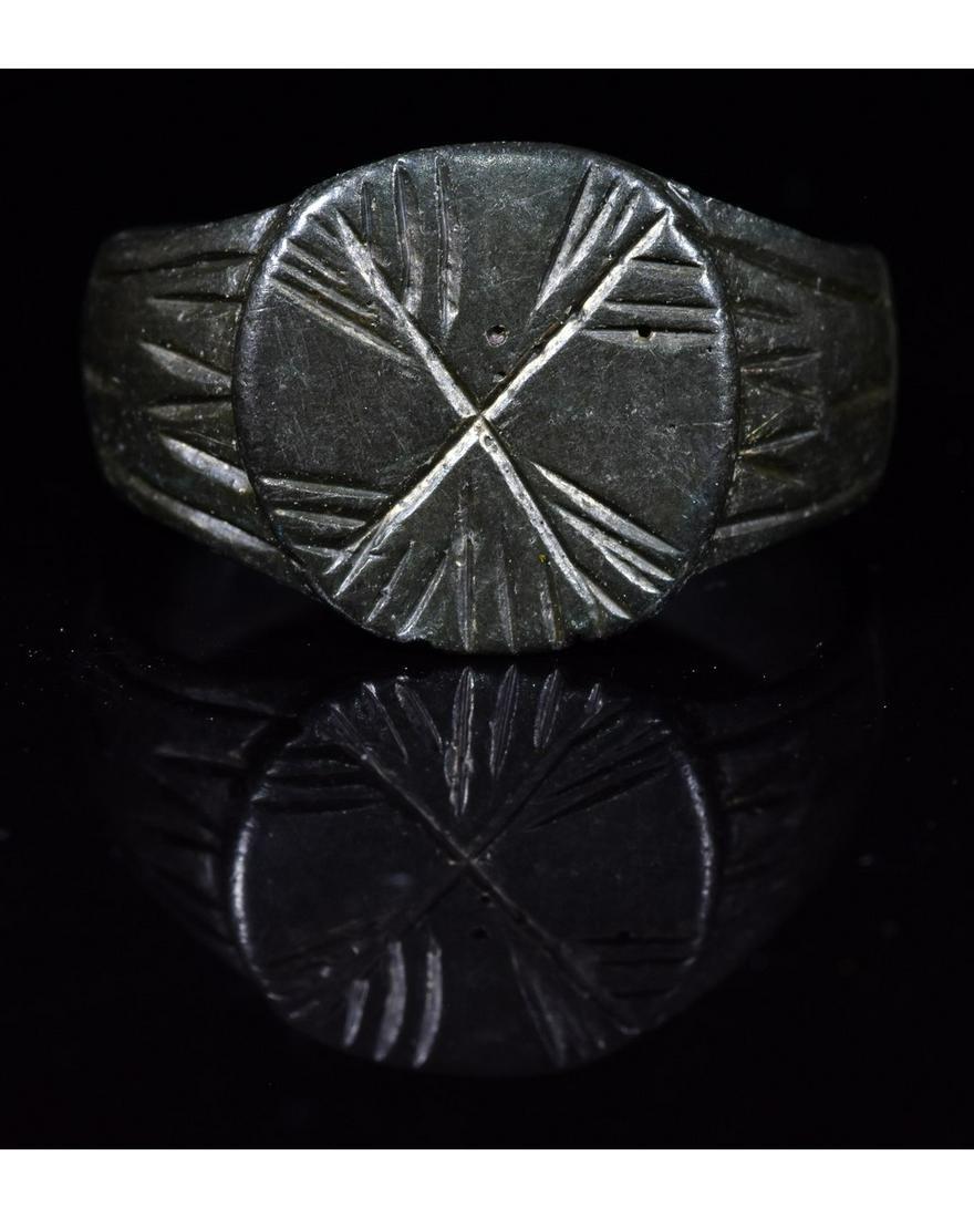 ROMAN 10th LEGION BRONZE RING
