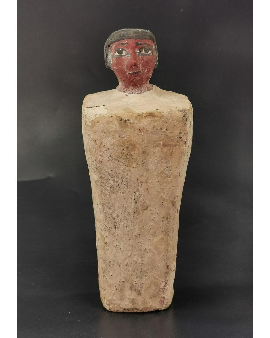 EGYPTIAN WOODEN FIGURINE