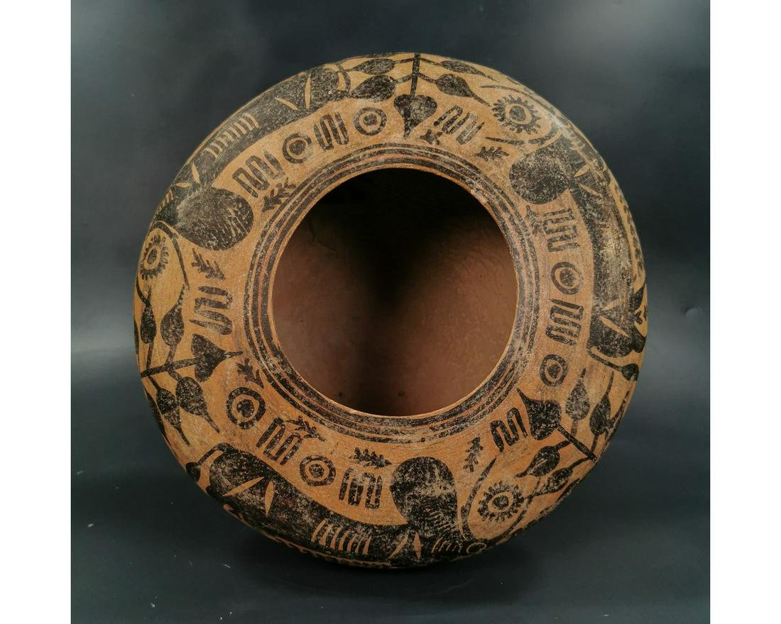 LARGE INDUS VALLEY TERRACOTTA BOWL