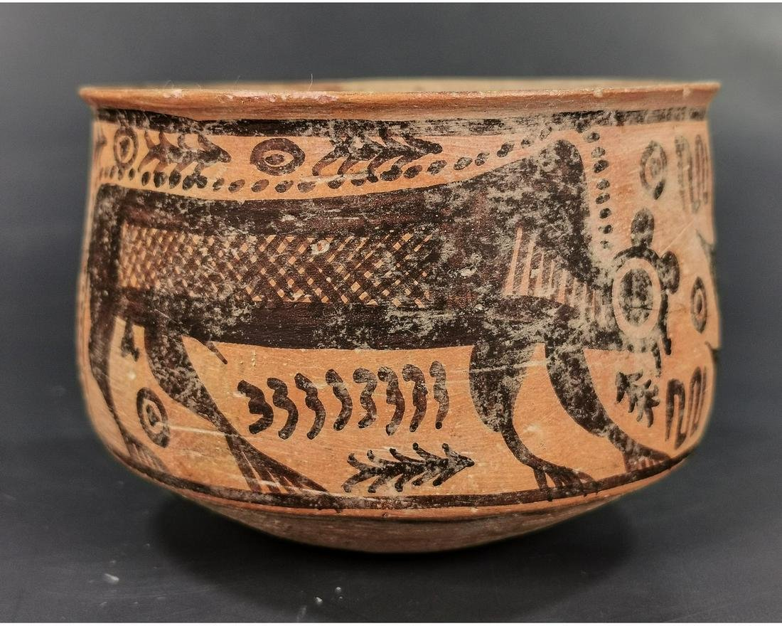 INDUS VALLEY CULTURE VESSEL WITH MONKEY