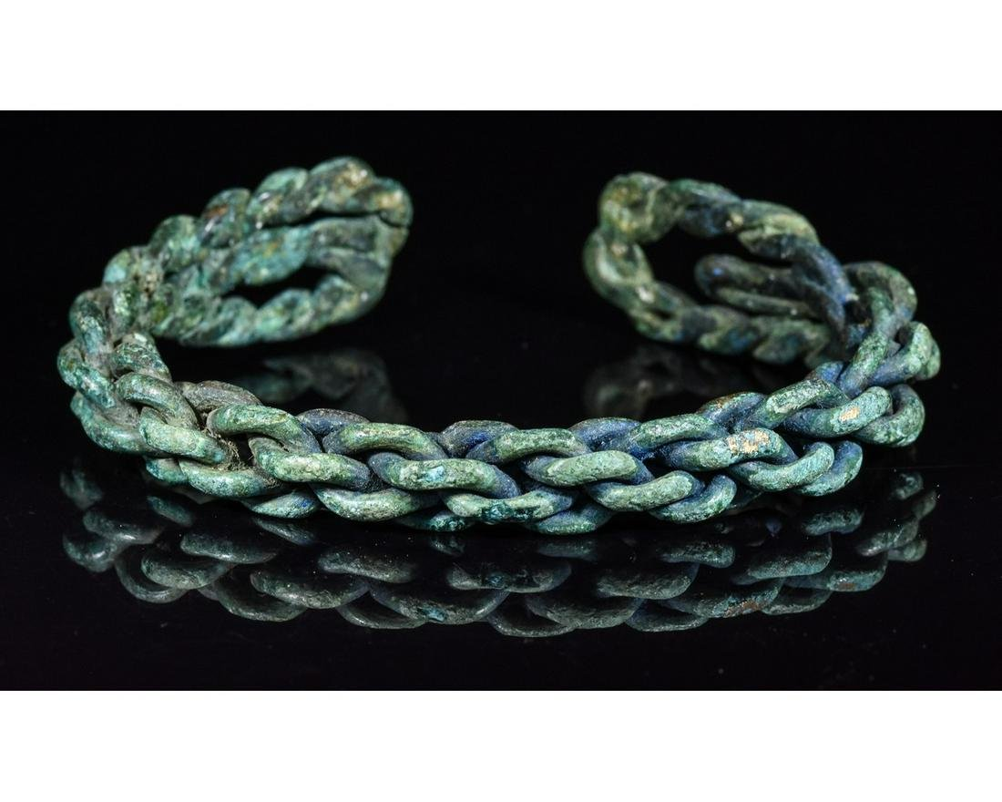 VIKING TWISTED BRONZE BRACELET