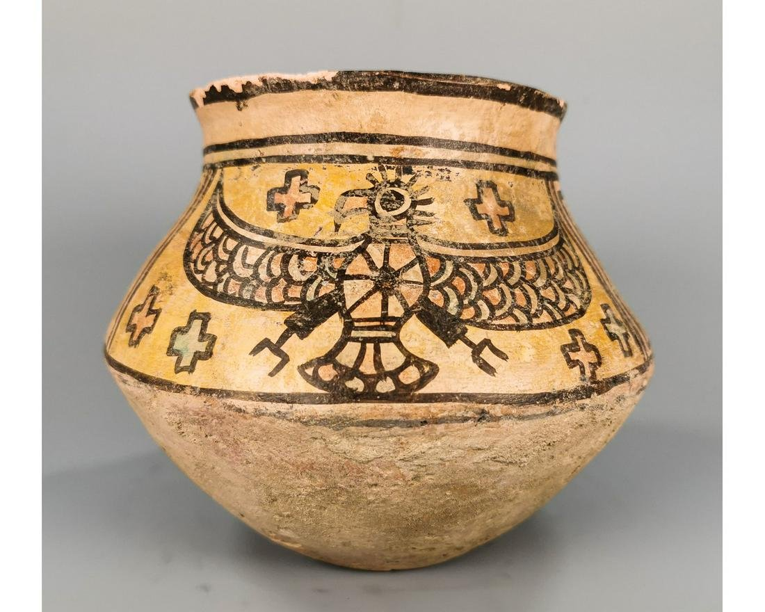 INDUS VALLEY CULTURE VESSEL WITH EAGLE