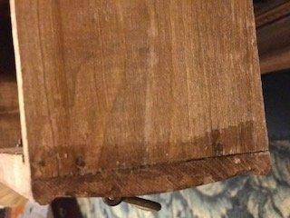 Antique Oak Miniature Chest of Drawers Salesman Sample - 3