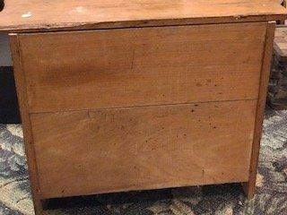 Antique Oak Miniature Chest of Drawers Salesman Sample - 5