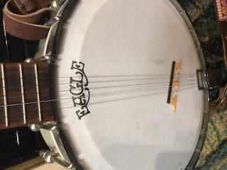 Vintage Eagle Banjo 5 String - 5