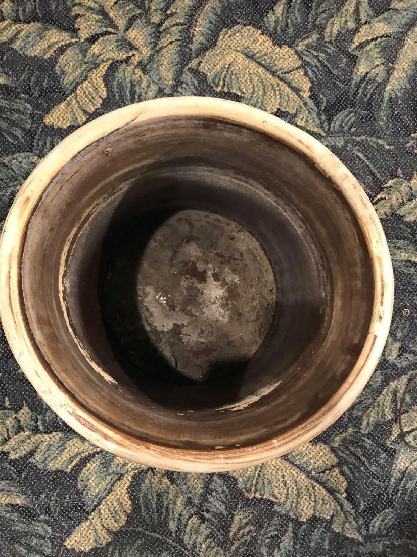 Antique 15 Gallon Pickling Crock Stoneware Pottery - 3
